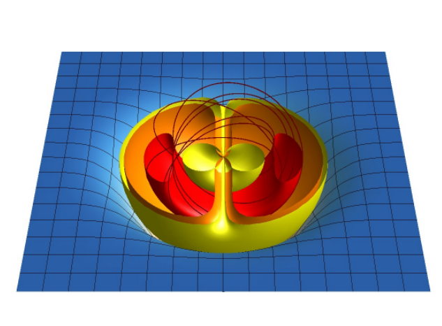 Knotted magnetic fields in quark-gluon plasma